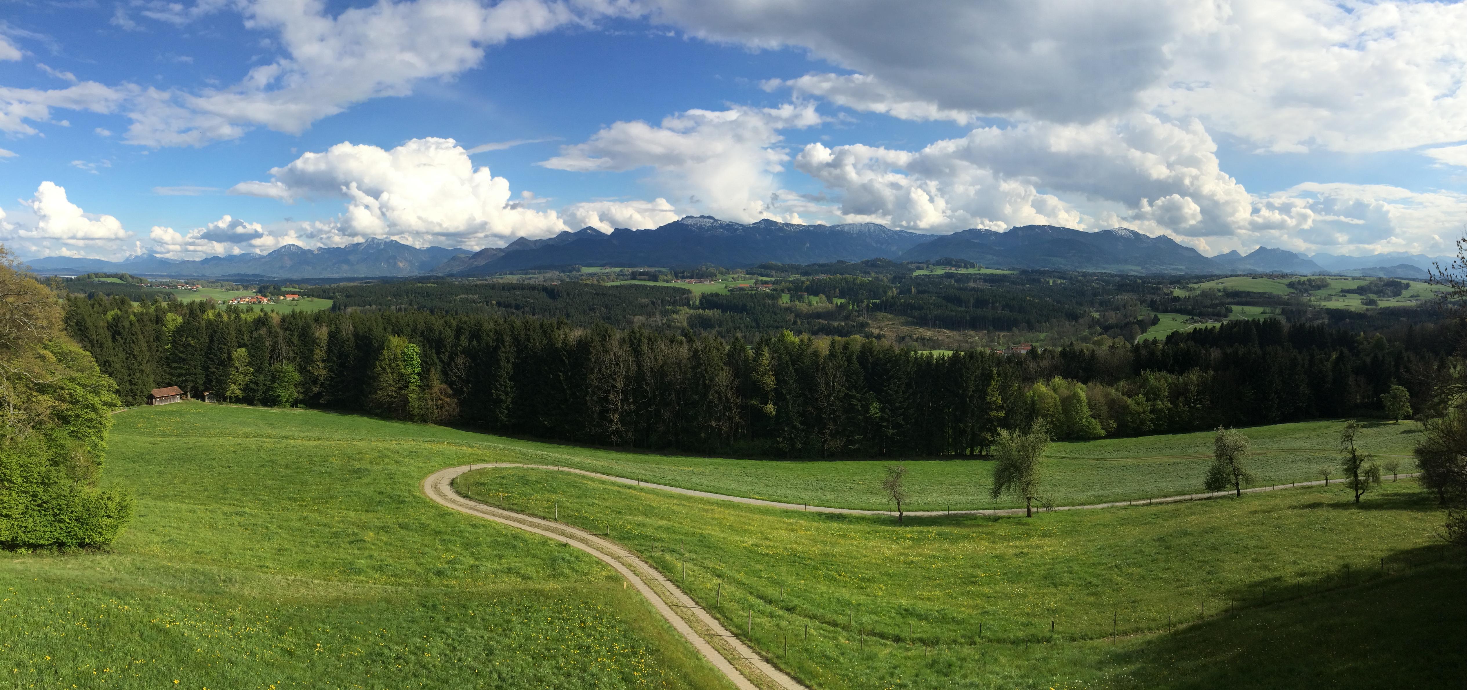 Chiemgau Ostern 2014
