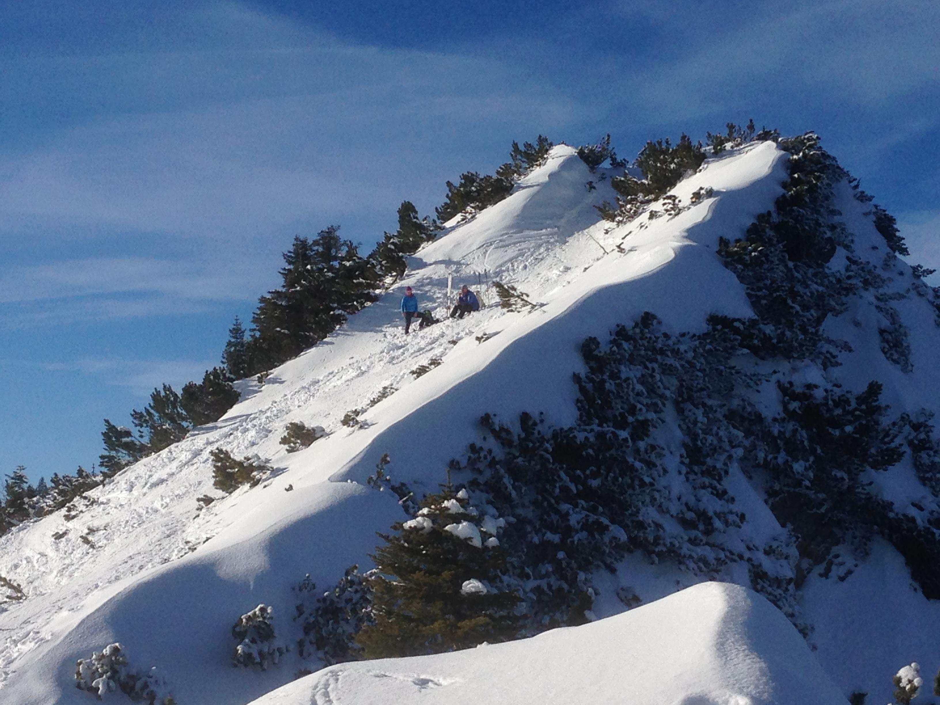 Skitour - Gipfelglück
